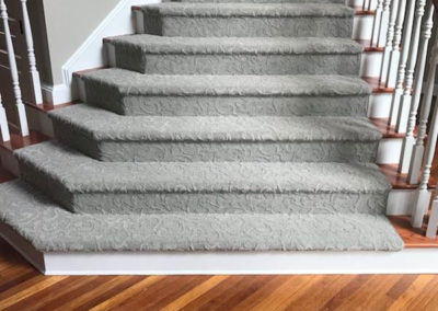 New Hardwood Floors and Carpeting on Stairs