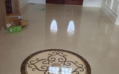 Creating an Entryway with Flooring